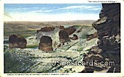 Fish Cut, Union Pacific System - Green River Buttes, Wyoming WY Postcard