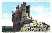 Teapot Rock, Wyoming Postcard      ;      Teapot Rock, WY