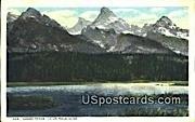 Grand Teton - Teton Mountains, Wyoming WY Postcard