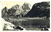 Lake Solitude - Teton Mountains, Wyoming WY Postcard