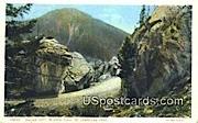 Silver Gate, Bunsen Peak - Yellowstone Park, Wyoming WY Postcard