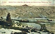 Big Horn Hot Springs - Thermopolis, Wyoming WY Postcard