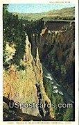 Needle, Grand Canyon - Yellowstone Park, Wyoming WY Postcard