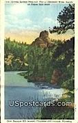 Granite Springs Reservoir - Laramie, Wyoming WY Postcard