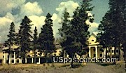 Lake Hotel - Yellowstone Park, Wyoming WY Postcard