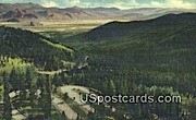 Teton Pass - Jackson Hole, Wyoming WY Postcard