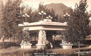 Washakie Fountain - Thermopolis, Wyoming WY Postcard