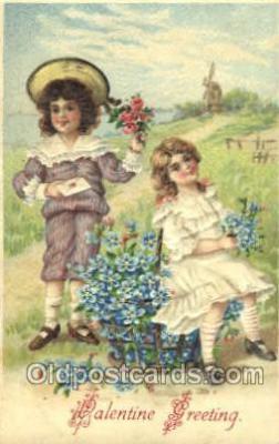 val001424 - Valentines Day Postcard Postcards