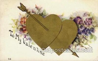 val001491 - Valentines Day Postcard Postcards