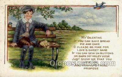 val001570 - Valentines Day Postcard Post Cards