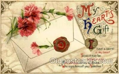 val001715 - Valentines Day Postcard Postcards