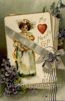 val001879 - Valentines Day Postcard Postcards