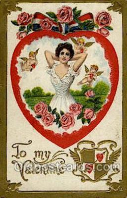 val050210 - Valentines Day Postcard Postcards
