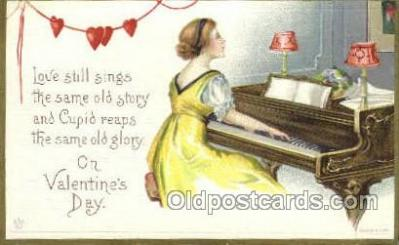 val050316 - Valentines Day Postcard Post Cards