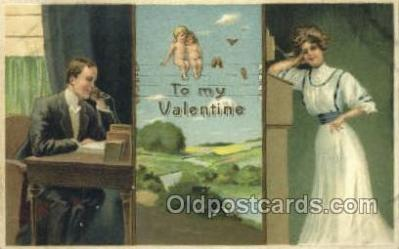 val050317 - Valentines Day Postcard Post Cards