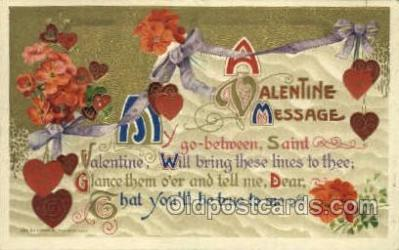 val050334 - Publisher John Winsch Valentines Day Postcard Post Cards