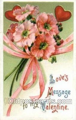 val050386 - Valentines Day Postcard Post Cards
