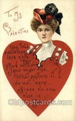 val050417 - Artist HBG Valentines Day Postcard Post Cards