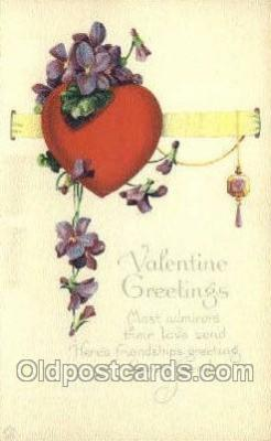 val050500 - Valentines Day, Old Vintage Antique Postcard Post Card