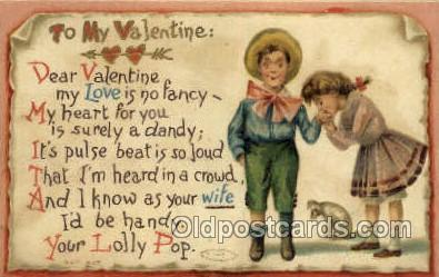 val100062 - Valentines Day Postcard Post Cards