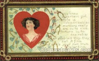 val100295 - Valentines Day Postcard Post Cards