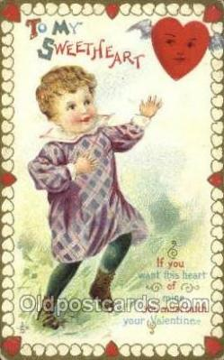 val100391 - Valentines Day Postcard Post Cards
