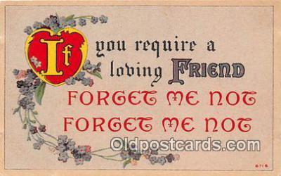 val100648 - Valentines Day Postcard Post Card Old Vintage Antique