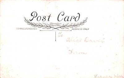 val200021 - Valentines Day Post Card Old Vintage Antique Postcard  back