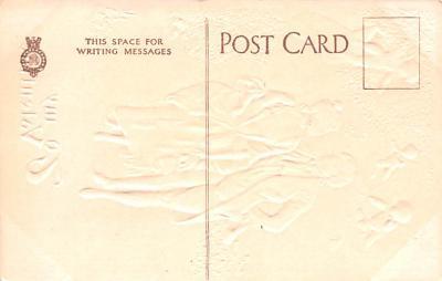 val200119 - Valentines Day Post Card Old Vintage Antique Postcard  back