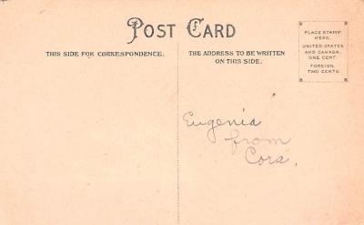 val200477 - Valentines Day Post Card Old Vintage Antique Postcard  back
