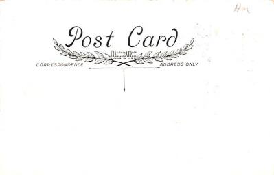 val200611 - Valentines Day Post Card Old Vintage Antique Postcard  back