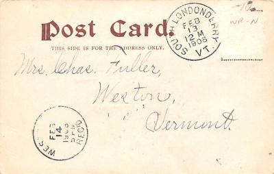 val200767 - Valentines Day Post Card Old Vintage Antique Postcard  back