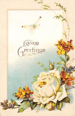 val300013 - Loving Greetings Postcard