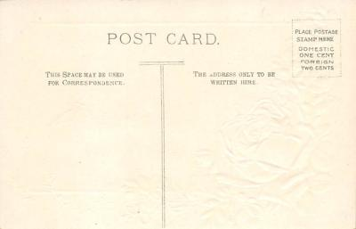 val300013 - Loving Greetings Postcard  back