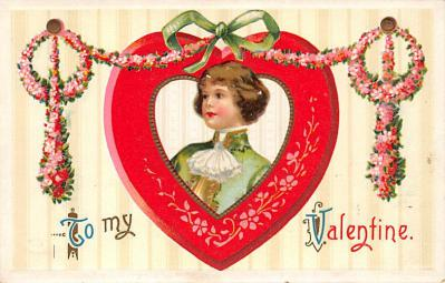 val300041 - To my Valentine Postcard