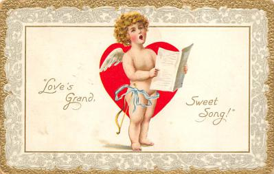val300077 - Love Grand Sweet Song Postcard
