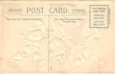 val300089 - Valentines Greeting Postcard  back