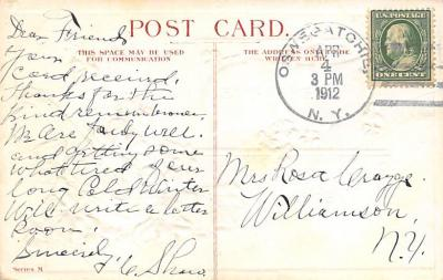 val300095 - Remembrance Best Wishes Postcard  back