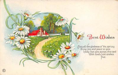 val300113 - Best Wishes Postcard