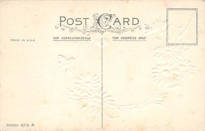 val300113 - Best Wishes Postcard  back