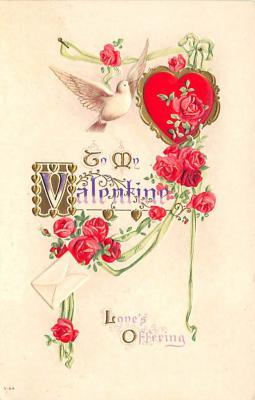 val300115 - Valentines Day Post Card
