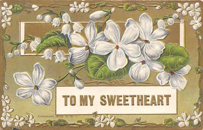 val300149 - To My Sweetheart Postcard