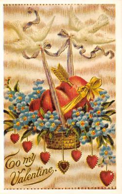 val300153 - Valentines Day Postcard