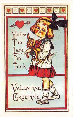 val300167 - Valentines Day Postcard