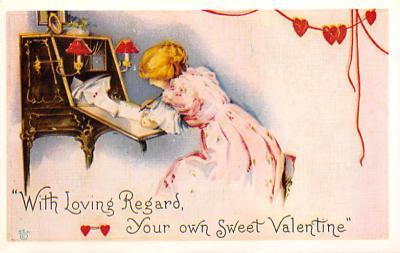 val300171 - Valentines Day Postcard