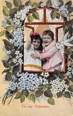 val300247 - To My Valentines Postcard