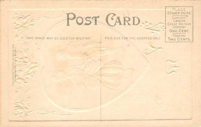 val300251 - Valentine message Postcard  back