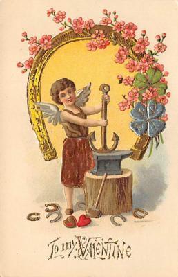 val300279 - To My Valentines Postcard