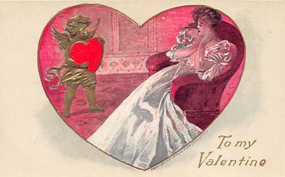 val300295 - To My Valentine Postcard