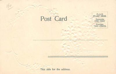val300307 - Valentines Day Postcard  back